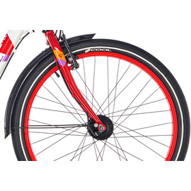 s'cool chiX 24 7-S alloy Kinder white/red